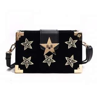 Velvet Fashion Square Bag 🌙