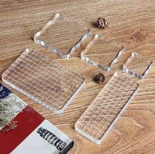 🌸PREORDER🌸 acrylic stamping block