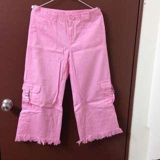 🚚 粉紅長褲