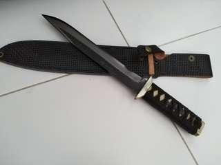 Toyokuni Artisan Japanese Traditional Hunting Knife