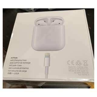 Unopened Sealed Box Brand New Apple Airpods