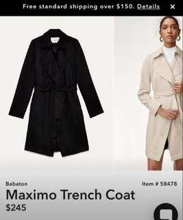Babaton Maximo coat from Aritzia