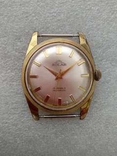 要维修 不議價Vintage SOLAR Manual Watches 古董手錶