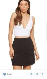 Kookai april top size 2 BNWT