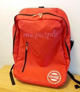 🈹️🈹️🈹️ Coca-Cola 二合一背囊行李袋 (Brand New)