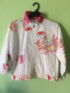 Vintage sergio tacchini floral jaket