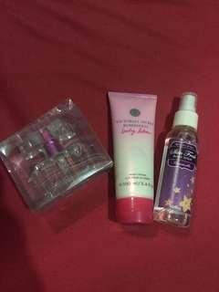 Lotion and Perfume