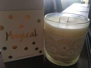 Dusk candle
