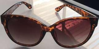 Brown & black womens sunglasses