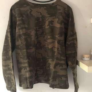 pull n bear army size s
