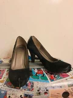 coup de foudro皮革鞋