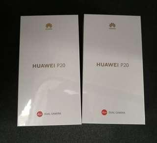 Huawei P20 NTC Brand New and Sealed