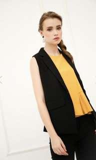 HESTER LAYERED PLEATS TOP