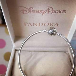 Pandora Disney Magical Adventures ⼿鐲 bracelet 樂園限定款 手扼 19cm