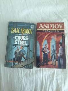 Caves of Steel & Naked Sun by Isaac Asimov
