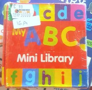 My ABC Mini Library - BBW