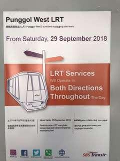 Punggol West LRT Finally Opens for Both Directions All Day Long.