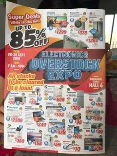 Electronic Overstock Expo 28-30 Sept 2018