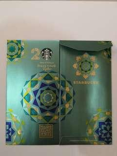 Starbucks limited edition 20 years anniversary raya packet