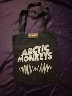 Tote bag arctic monkeys