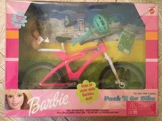🚚 1999年美泰兒芭比腳踏車配件