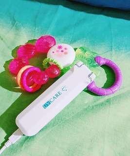 UV Care Pocket Sterilizer w/ Baby Nail Trimmer