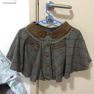 日本Snidel格紋雙口袋雙層短裙 Snidel Skirt