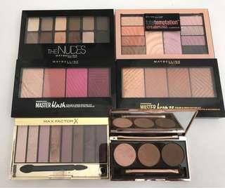 Makeup palette bundle
