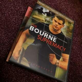 Thr Bourne Supremacy Region 1 DVD