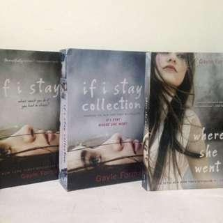 Free SF Boxed Set If I Stay