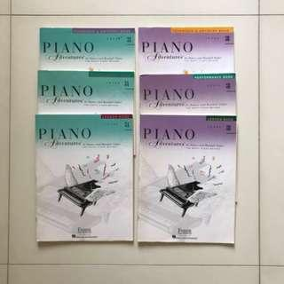 Faber Piano Adventures Level 3 books