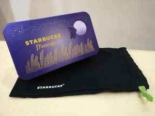 Starbucks mooncakes tin casing mid autumn collection thailand
