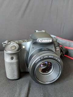 Canon 60D + 50mm 1.8