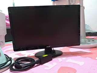 """acer宏基 22型電腦螢幕,顯示器 21.5""""寬螢幕 解析度1920x1080,LED背光"""