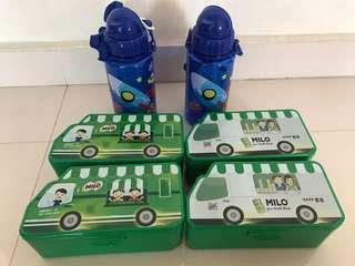 Milo Lunch Box & Bottle Set