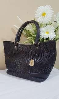 Cole Haan woven tote bag