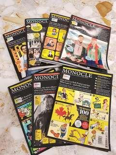 Monocle 7 issues