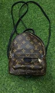 Lv mini backpack monogram