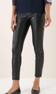 Next Faux Leather Leggins Size 12R