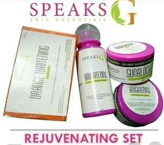 Speak g Rejuvenating Set