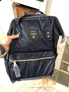 Anello nylon backpack (navy blue Color)