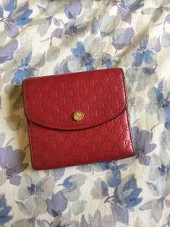 Authentic Gucci bi fold wallet