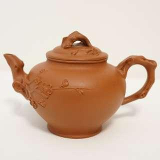 紫砂 茶壺 舊紅泥 報春壺 150cc (90年代)