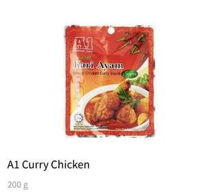 A1 Instant Curry Chicken or Fish
