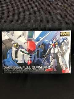 BNIB RG Gundam GP01Fb FULL BURNERN