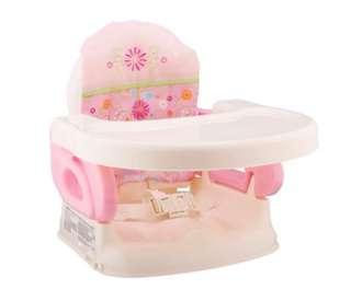 Summer infant deluxe comfort booster seat pink 95% new
