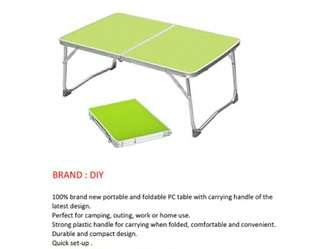 FREE SHIPPING:Foldable Aluminium Table