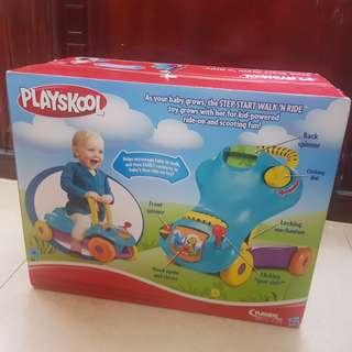 Playskool Step Start Walk and Ride 2 in 1