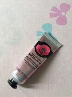 Bristish rose hand cream