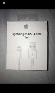 iPhone Lightning Cable - New